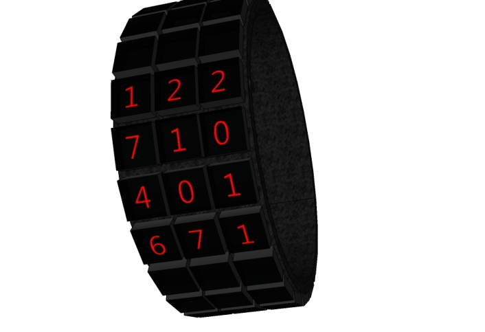 black_squares_led_watch