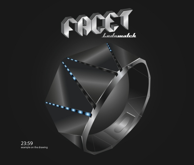 Facet_Watch_Design_Black