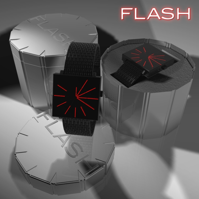 time_in_a_flash_led_watch_design