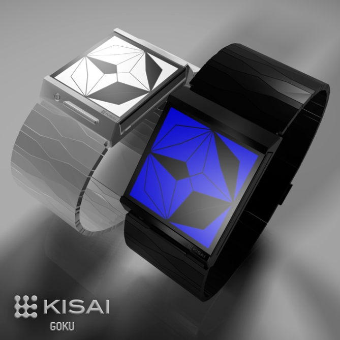 Kisai Goku LED Watch Concept Design Concept Color Variations