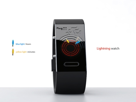 Lightning LED Watch Design 3 Explanation