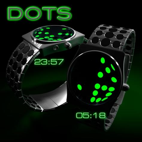 dots_watch_design_silver_black