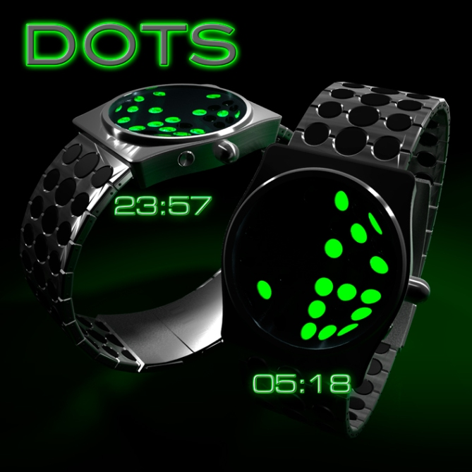 dots_watch_design_silver_black