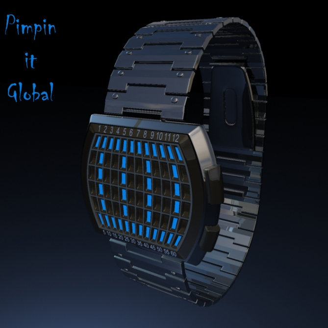 pimpin_it_global_LED_watch_design_chrome
