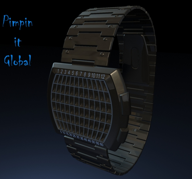 pimpin_it_global_LED_watch_design_example