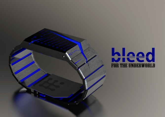 bleeding_blade_watch_design_blue_LED