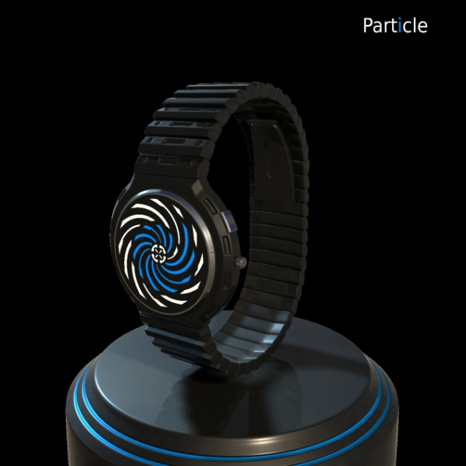 Particle LED Watch Design – Accelerate Time