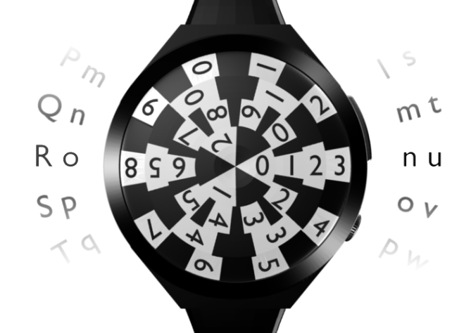 ronu_classic_watch_and_futuristic_clock_combine_numbers
