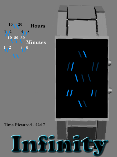 an_infinity_binary_watch_design_time_explanation