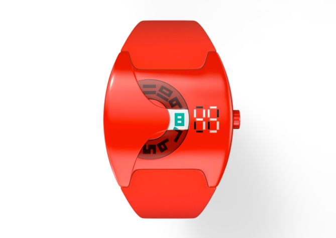 analog_LED_digital_hybrid_watch_design_front