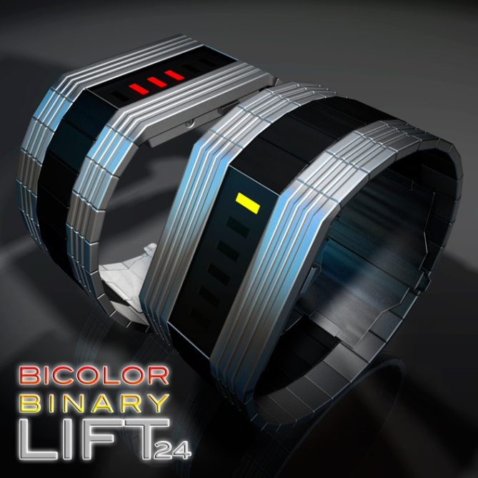 bicolor_binary_lift_a_binary_led_watch_design_twin_shot