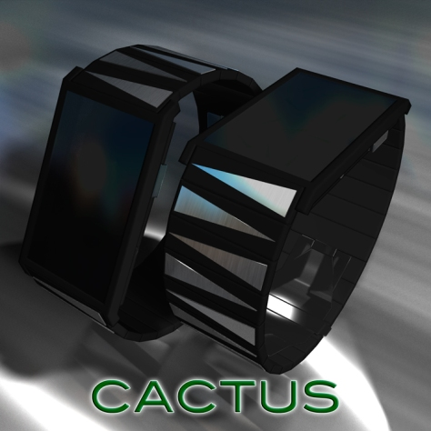 cactus_led_watch_design_with_analog_pointers_overview