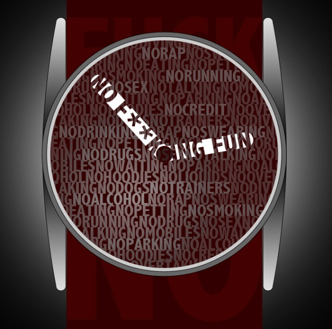 f***_no_a_rebellious_analog_watch_design_color_variation