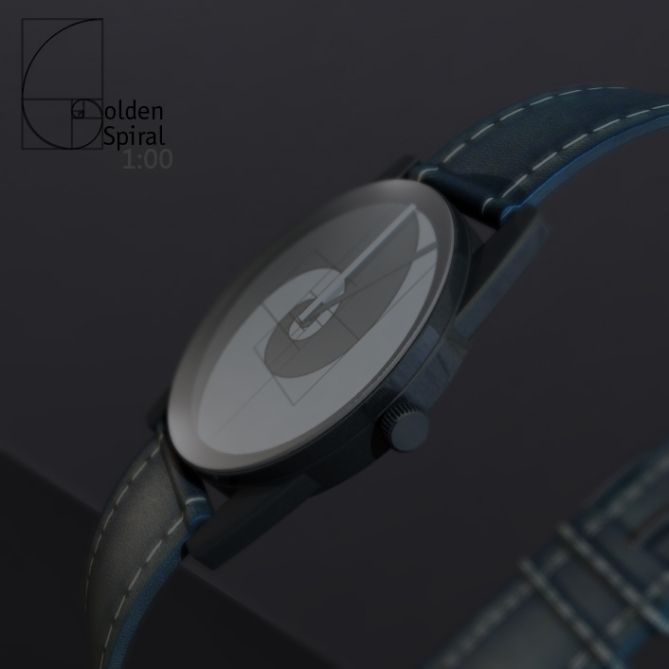 golden_spiral_analog_watch_design_side