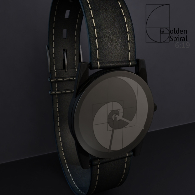 golden_spiral_analog_watch_design_front