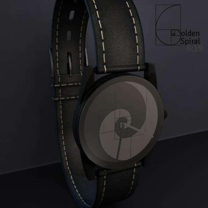 golden_spiral_analog_watch_design_front