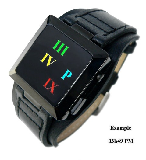 led_roman_numerals_watch_design_overview