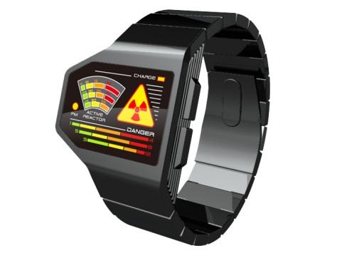 radiation_level_led_watch_design_front