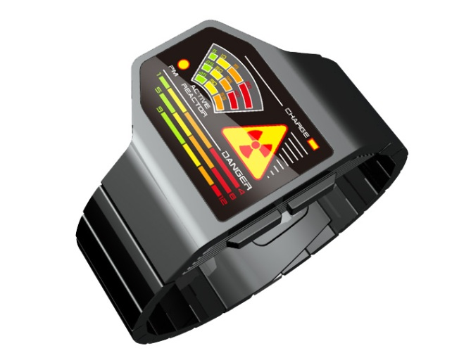 radiation_level_led_watch_design_side