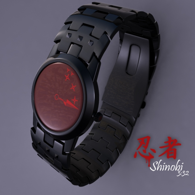 shinobi_an_analog_watch_design_made_of_ninja_tools_overview