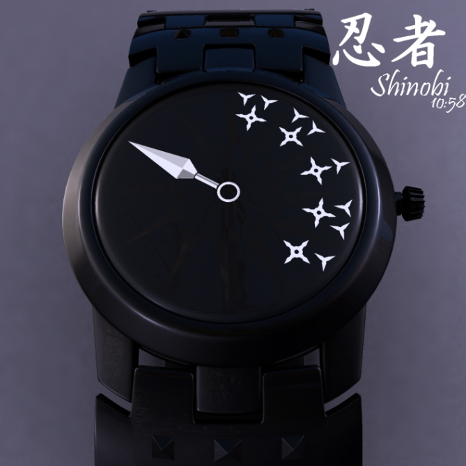 shinobi_an_analog_watch_design_made_of_ninja_tools_white