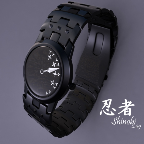 shinobi_an_analog_watch_design_made_of_ninja_tools_white_side