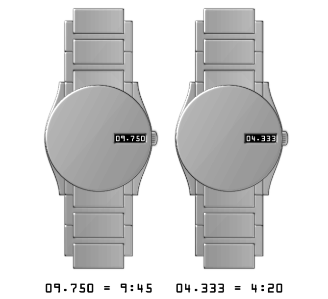 decimal_hours_analog_watch_design_time_sample