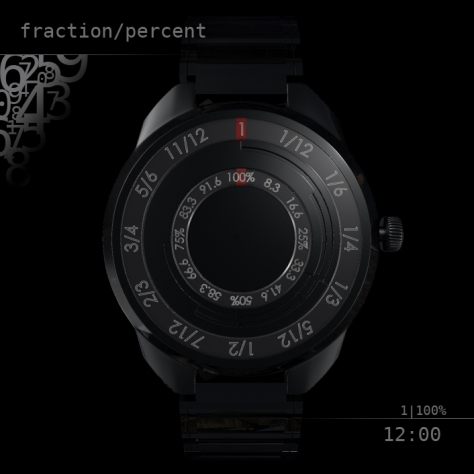 fraction_percent_led_watch_design_front_view