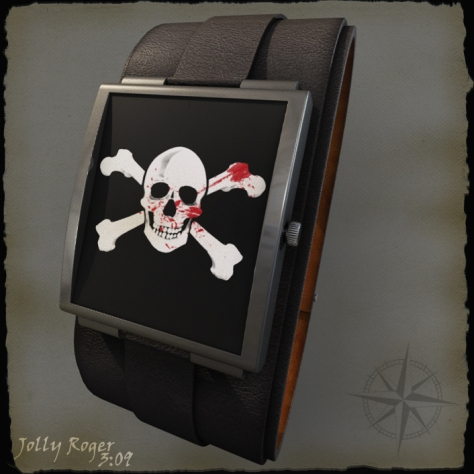 pirates_bloody_led_watch_design_front