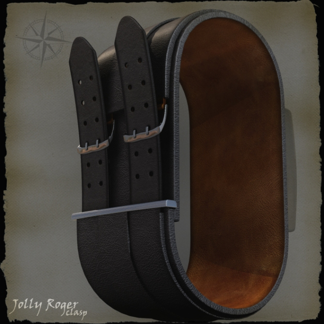 pirates_bloody_led_watch_design_clasp