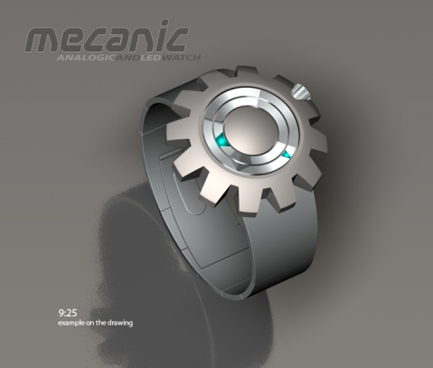 mechanic_analog_watch_design