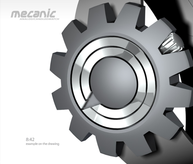 mechanic_analog_watch_design_time_sample