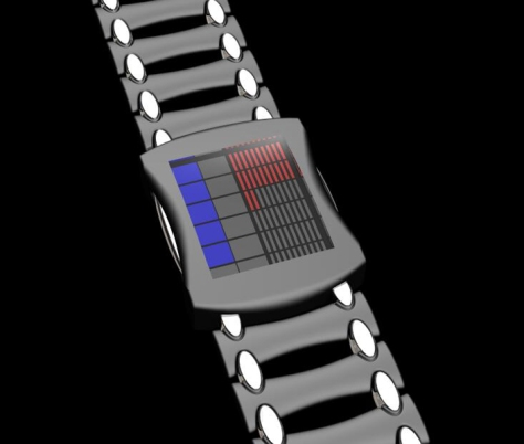 led_lit_square_watch_design_front_view