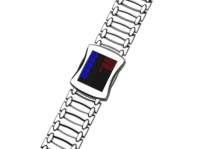 led_lit_square_watch_design_silver