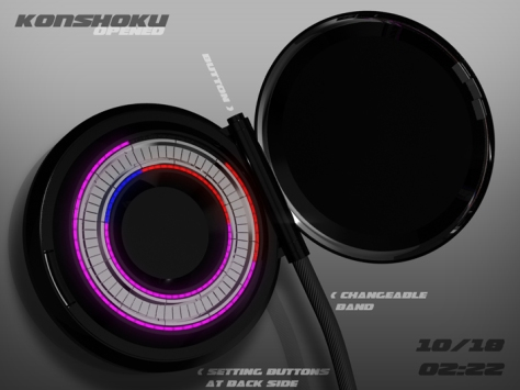 mix_color_led_pocket_watch_design_opened