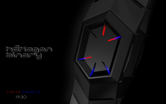 hexagonal_binary_led_watch_design_time_sample_03