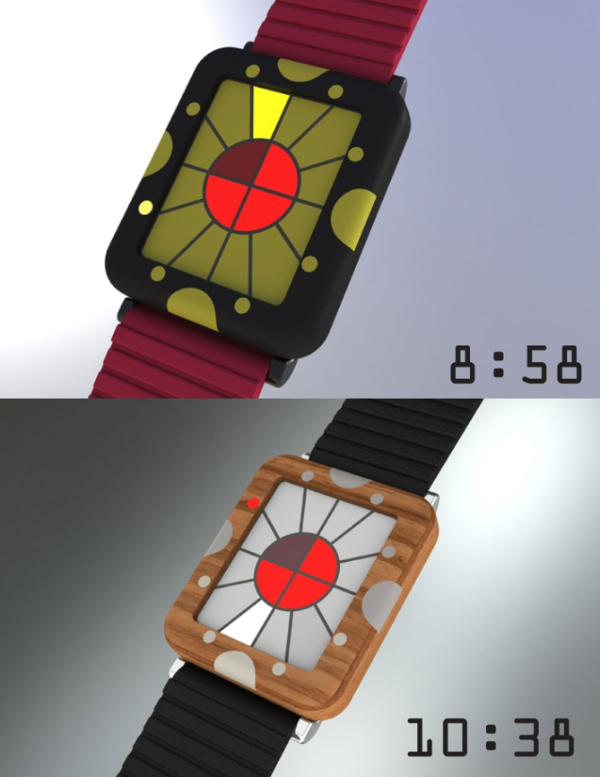 fun_colors_led_watch_design_color_variation