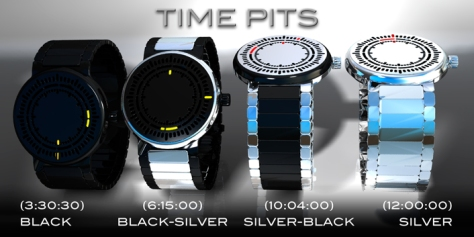 time_pits_led_watch_design_color_variation