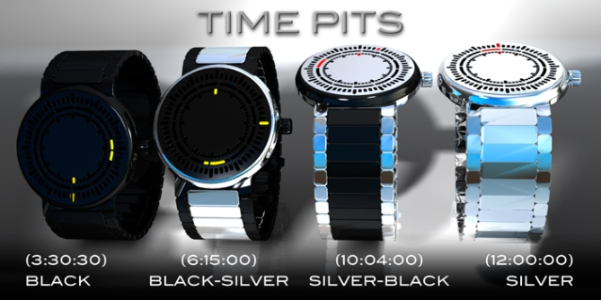 time_pits_led_watch_design_color_variation