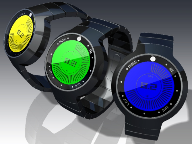 uv_index_lcd_watch_design_with_touch_screen_LCD_colors