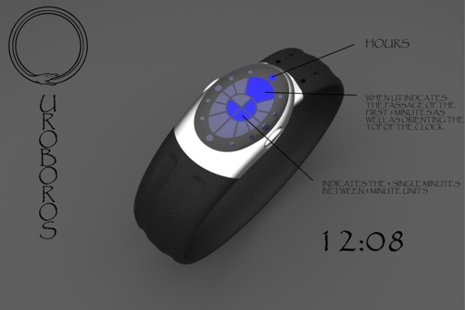 ouroboros_inspired_led_watch_design_reading