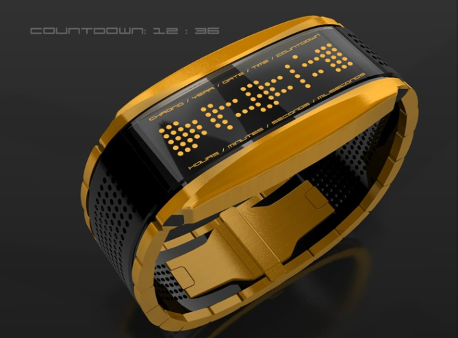 high_octane_lcd_sports_watch_design_gold