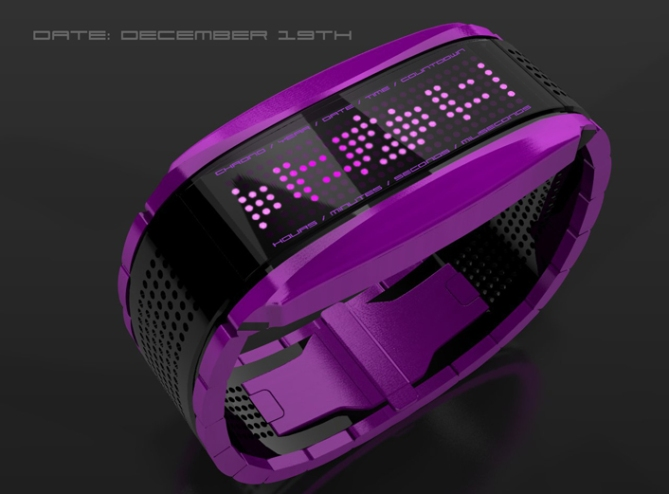 high_octane_lcd_sports_watch_design_purple