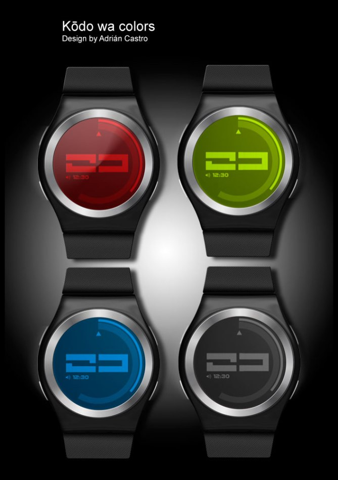 color_coded_watch_design_color_variation