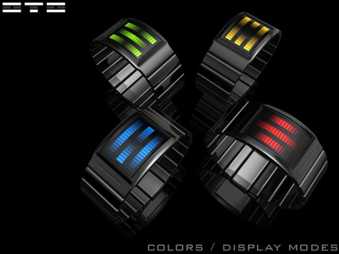 sound_sensitive_led_watch_design_color_variation