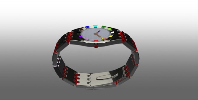 always_1010_led_analog_watch_design_side_view
