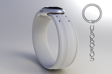 ouroboros_inspired_led_watch_design_white_steel