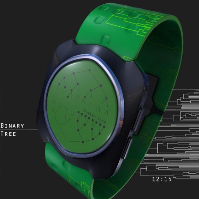 binary_tree_led_watch_design_green_time_sample