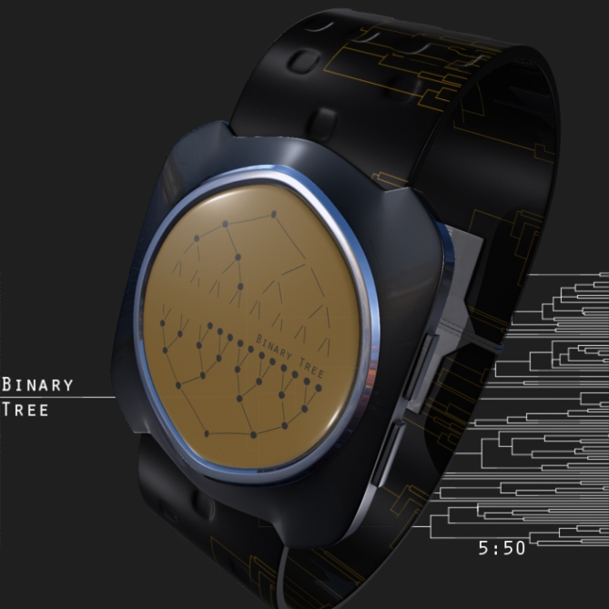 binary_tree_led_watch_design_orange_time_sample