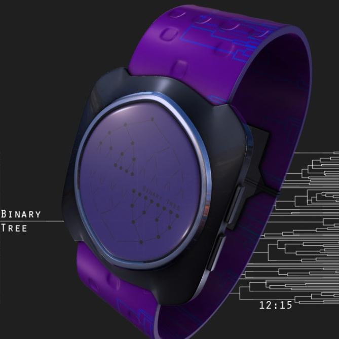 binary_tree_led_watch_design_purple_time_sample